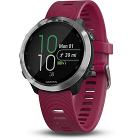 Garmin Forerunner 645 Music GPS Smartwatch, rosso